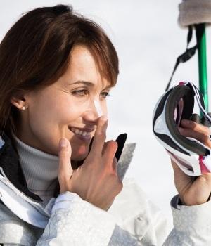 Husk solcreme når du står på ski