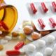 Piller med antibiotika